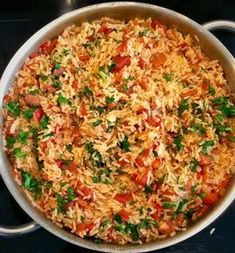 Spiced rice with tomatoes - Yummy Food Recipes Healthy Dinner Recipes, Vegetarian Recipes, Rice Recipes, Cooking Recipes, Spiced Rice, Confort Food, Tomato Rice, Haitian Food Recipes, Healthy Soup