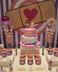 Excellent Doc McStuffins birthday party! See more party ideas at CatchMyParty.com!