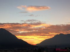 Sunset in Lecco (Lake Como) by Casa Irene http://casaperledo.xoom.it/