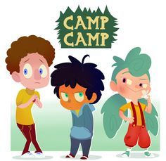 Drew some camp kiddos