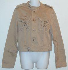 Da-Nang Cotton Cargo Khaki Jacket. Free shipping and guaranteed authenticity on Da-Nang Cotton Cargo Khaki JacketCasual jacket from Da Nang in khaki cotton twill. ...
