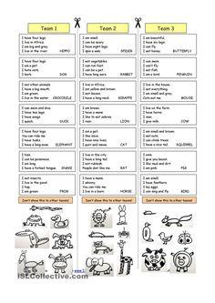 Animal Riddles 1 (Easy)
