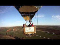 Balloon ride in Merida, Badajoz (Spain)