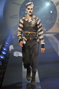 John Galliano Spring 2011 Menswear Collection Slideshow on Style.com