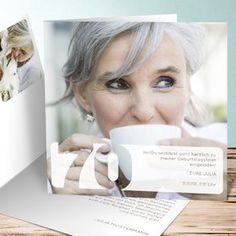 Einladungskarten 70. Geburtstag   Selbst Gestalten