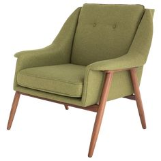 Mid-century modern design lays the framework for the Grace occasional chair. Contoured padded upholstery in a rich variety of colours and elegant solid Walnut legs, round out this comfortable timeless classic. Mid Century Dining, Mid Century Chair, Modern Outdoor Furniture, Framed Fabric, Grey And Beige, Gray Green, Colorful Chairs, Mid Century Modern Design, Occasional Chairs