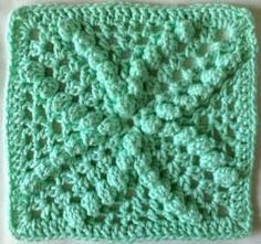 Free pattern for Mint Bobbles Dishcloth by Maggie Weldon