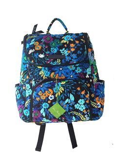 Vera Bradley Double Zip Backpack -- You can get more details by clicking on the image. (This is an Amazon Affiliate link and I receive a commission for the sales)