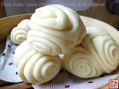 Hua Juan : pain chinois torsadé à la vapeur - Recettes d'une Chinoise - Vegan recipe