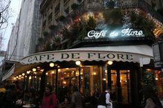 Prinsessat maailmalla: Cafe d Flore - Pariisin St. Germainin helmi