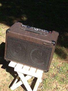 # Ultrasound AG-D50 Acoustic Guitar amp (pre Dean Markley) w cover please retweet