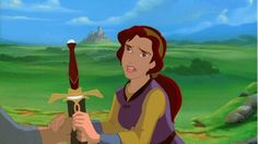 Kayley from Quest For Camelot