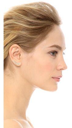 Rebecca Minkoff Crystal Ear Crawlers