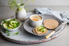 Louise Robinson's stunning smoked salmon pâté recipe is flavoured with a hint of cayenne pepper and served with a crisp fennel and apple salad. Spread the pâté onto crispbreads for a refined and delicious lunch, or prepare ahead of your next dinner party for a simple, elegant canapé.