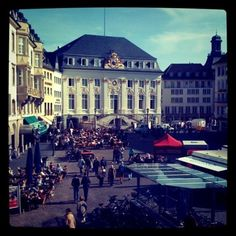 Bonn, Germany - the best bar was just behind the Rathaus - called The Zebulon