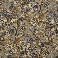 The K7571 ATLANTIS upholstery fabric by KOVI Fabrics features Abstract or Geometric, Paisley pattern and Beige or Tan or Taupe, Dark Blue, Light Blue, White or Off-White as its colors. It is a Tapestry type of upholstery fabric and it is made of 61% cotton, 20% Acrylic, 19% polyester material. It is rated Exceeds 100,000 Double Rubs (Heavy Duty) which makes this upholstery fabric ideal for residential, commercial and hospitality upholstery projects. Need help?Call 800-8603105.