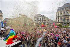 Cause love is too beautiful to be hidden, let´s celebrate the Pride 2016! Discover all the Pride parties in Brussels!