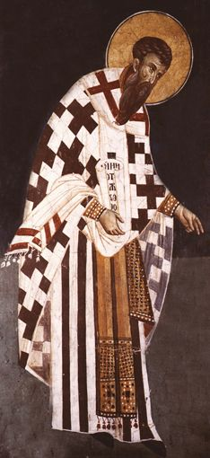 The Greek Santa Claus is Agios Vasilis (Αγιος Βασίλης) and he brings presents on New Year's Eve. Agios Vasilis is St. Basil in English, and he comes from Caesarea in Asia Minor. He died on January 1st, 379 AD, and the Greek Orthodox Church celebrates his memory on January 1st. This is why in Greece Agios Vasilis brings presents on New Year's Eve and not on Christmas, as it happens elsewhere in the world.