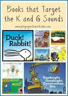 How To Elicit (Teach) the K and G Sounds {Part Two: Materials and Products for K and G} Artic stuff