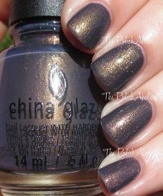 China Glaze Fall 2014 All Aboard Collection- Choo-Choo Choose You is a blueish base with multi chrome shimmer.