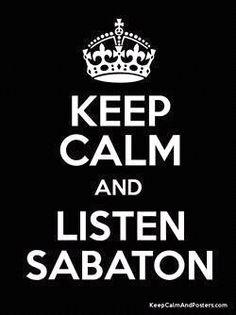 sabaton forever ;) m/