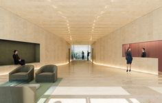 Lobby 121 E 22nd St OMA Rem Koolhaas Residential Tower