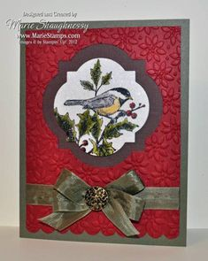 Dazzling Chickadee Window by Card Shark - Cards and Paper Crafts at Splitcoaststampers