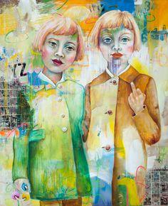 Painting Collage, Paintings, Figurative Art, Acrylics, Switzerland, Modern Art, Portraits, Random Stuff, People