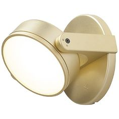 Monocle LED Wall Sconce by Rich Brilliant Willing at Lumens.com