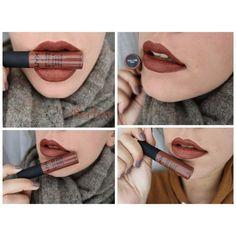 nyx lip cream berlin - one of my favorite colors! Makeup Swatches, Kiss Makeup, Makeup Dupes, Beauty Makeup, Hair Makeup, Beauty Tips, Nyx Lip Cream, Nyx Lipstick, Lipsticks