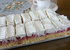 Šľahačkové rezy, recept, Zákusky | Tortyodmamy.sk Vanilla Cake, Tiramisu, Waffles, Cheesecake, Deserts, Sweets, Breakfast, Populárne Piny, Food
