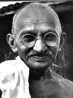"""Reporter: """"What do you think of Western civilization, Mr Gandhi?""""   Mohandas Gandhi: """"I think it would be a good idea."""""""