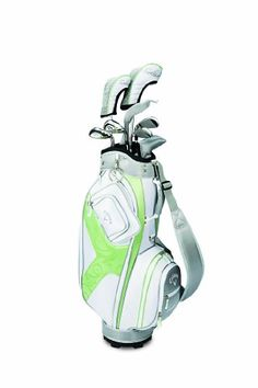 If you are new at golf and want to start out with a great set of golf clubs, the Callaway Lady Solaire Full Set II is great choice. Exclusively engineered for women. Ladies Golf Clubs, Best Golf Clubs, Golf Clubs For Sale, Pam Pam, Golf Club Sets, Golf Attire, Callaway Golf, Golf Irons