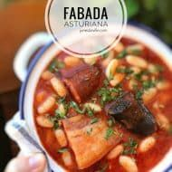 Fabada Asturiana Spanish Pork And Bean Stew In 2020 Bean Stew Spanish Pork Fabada Recipe