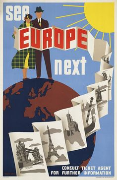 Europe: #travel #poster
