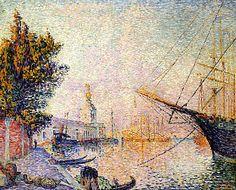 The Dogana, 1896, Paul Signac