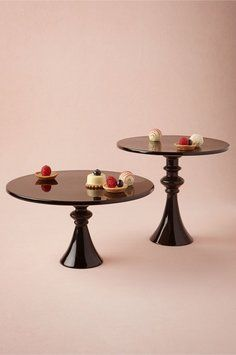 Bhldn Black Cake Stands. Bhldn Black Cake Stands on Tradesy Weddings (formerly Recycled Bride), the world's largest wedding marketplace. Price $35.00...Could You Get it For Less? Click Now to Find Out!