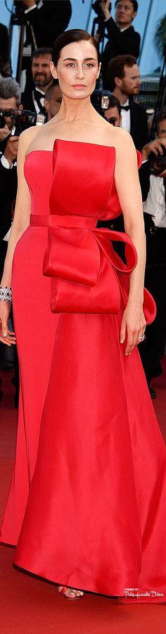 #Erin #O'Connor in Ralph & Russo Haute Couture♔ Cannes Film Festival 2015 Red Carpet ♔ Très Haute Diva ♔