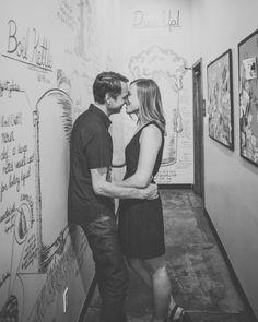 Downtown Phoenix Engagement Photos | David Lemp Photography | Reverie Gallery Wedding Blog