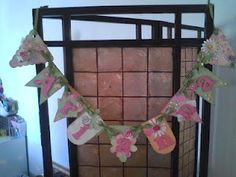 Banner for my granddaughter.   See close-ups on my blog!