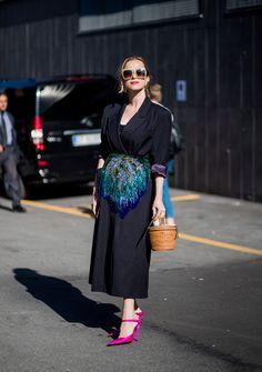 STYLECASTER | Best of Milan Fashion Week Street Style