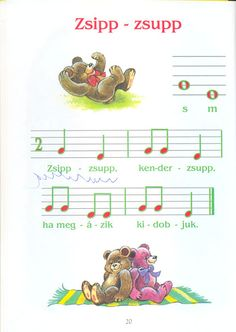 Music For Kids, Kids Songs, Music Theory, Album, Preschool Activities, Hungary, Sign, Google, Sheet Music