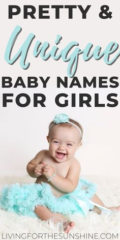 A list of beautiful unique names for girls in 2020. These cute but uncommon baby names will help you find the perfect name for your new daughter this year. #names #girlnames #uniquenames #babynames #babies Pretty Unique Girl Names, Pretty Names, Unique Baby Names, Rare Baby Names, Baby Girl Names, Baby Girls, Traditional Girl Names, Classic Girls Names, Old Lady Names