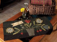 Celebrate Wool Mat by Maggie Bonanomi from Summer 2011