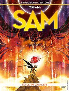 """Orfani Sam: Gli ultimi cavalieri"" Comic Book Covers, Comic Books, Samar, My Books, Geek Stuff, Comics, Movie Posters, Geek Things, Film Poster"