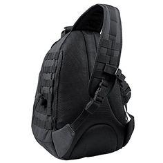 Condor Ambidextrous Sling Bag (Black), , 59.97