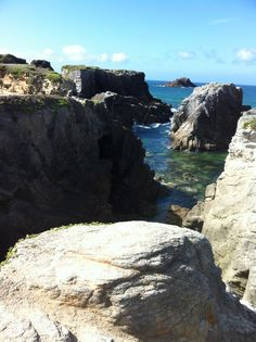 Quiberon cote sauvage Bretagne Morbihan France