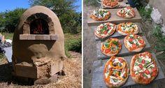 Construye tu propio horno exterior de tierra para pan y pizza - Vida Lúcida