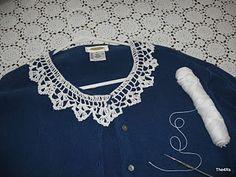 quick crochet collar pattern