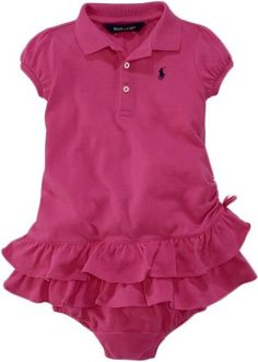 Preppy cute baby girl outfit